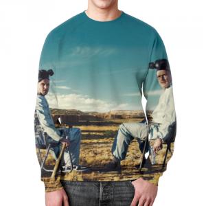 Collectibles - Sweatshirt Breaking Bad Footage Design Print