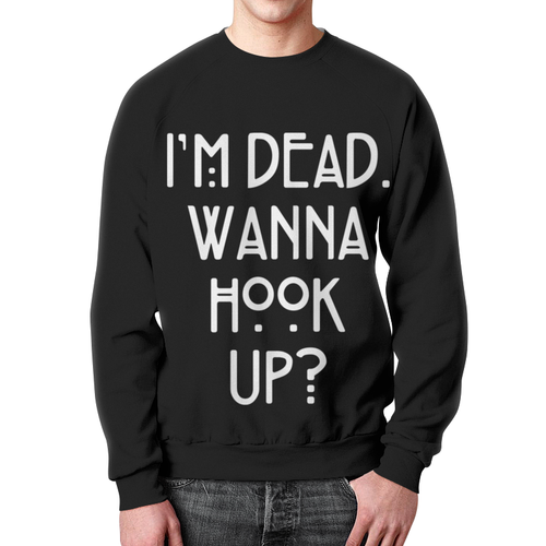 Collectibles Sweatshirt Wanna Hook Up? American Horror Story