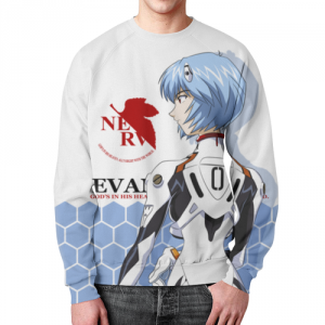 Collectibles Evangelion Sweatshirt Rei Ayanami