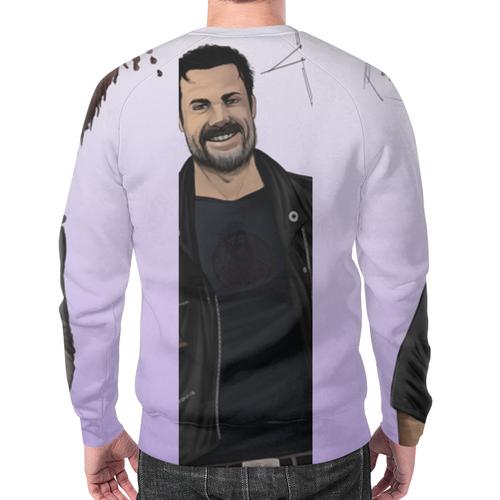 Merch Sweatshirt Nigan Portrait White Print Walking Dead