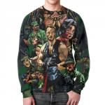 Collectibles Sweatshirt Predator Arnold Schwarzenegger