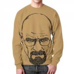 Merch Walter White Sweatshirt Breaking Bad Portrait Print
