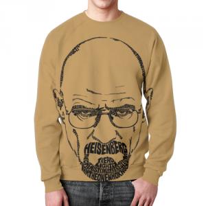 Collectibles - Walter White Sweatshirt Breaking Bad Portrait Print