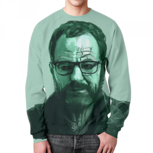 Collectibles - Sweatshirt Heisenberg Character Breaking Bad