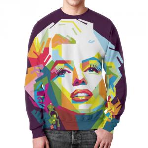 Collectibles - Marilyn Monroe Pop-Art Portrait Sweatshirt