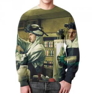 Collectibles - Sweatshirt Merch Breaking Bad Footage Design