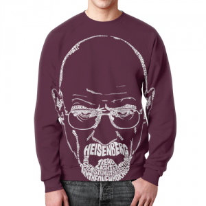Collectibles - Sweatshirt Breaking Bad Purple Hero Face