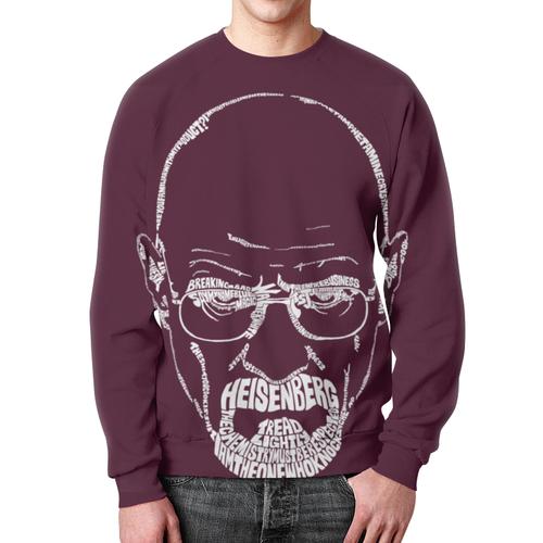 Merch Sweatshirt Breaking Bad Purple Hero Face