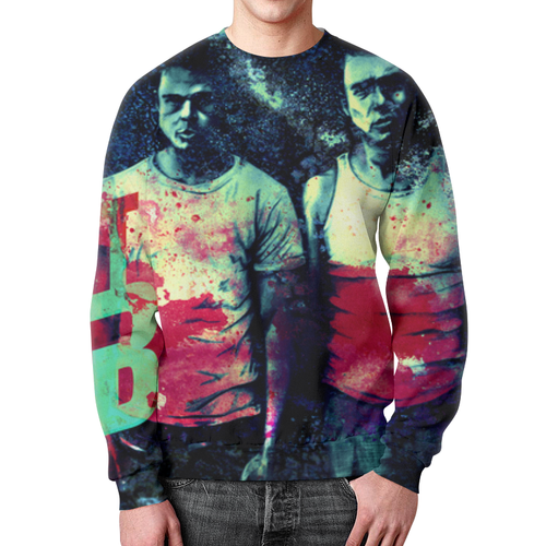 Collectibles Sweatshirt Fight Club Cover Movie