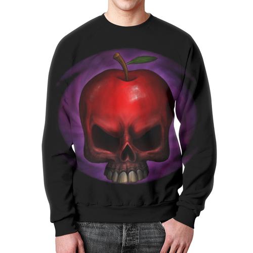 Merch Sweatshirt Skull Red Apple Apparel