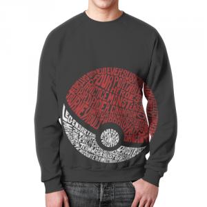 Merchandise - Pokemon Sweatshirt Pokeball Art
