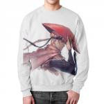 Merch Naruto Hokage Sweatshirt White Apparel