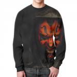 Merch Sweatshirt Star Wars Darth Maul Face Design