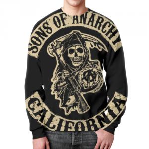 Merch Sweatshirt Merch Sons Of Anarchy California Design