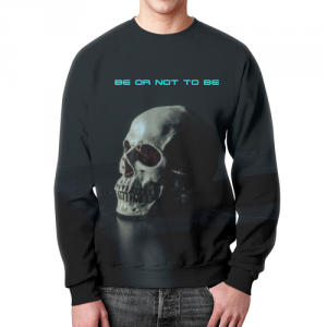 Collectibles Shakespeare Sweatshirt To Be Or Not To Be