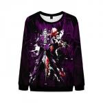 Merch Harley And Joker Sweatshirt Retro Comic Books
