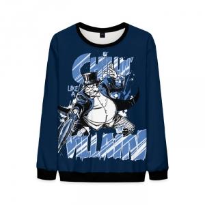 Merch Penguin Sweatshirt Batman Dcu Chillin' Like A Villain