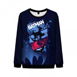 Merch Gotham City Sweatshirt Batman Dark Blue Noir