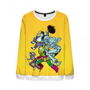 Merchandise Sweatshirt Villains Of The Justice League Yellow