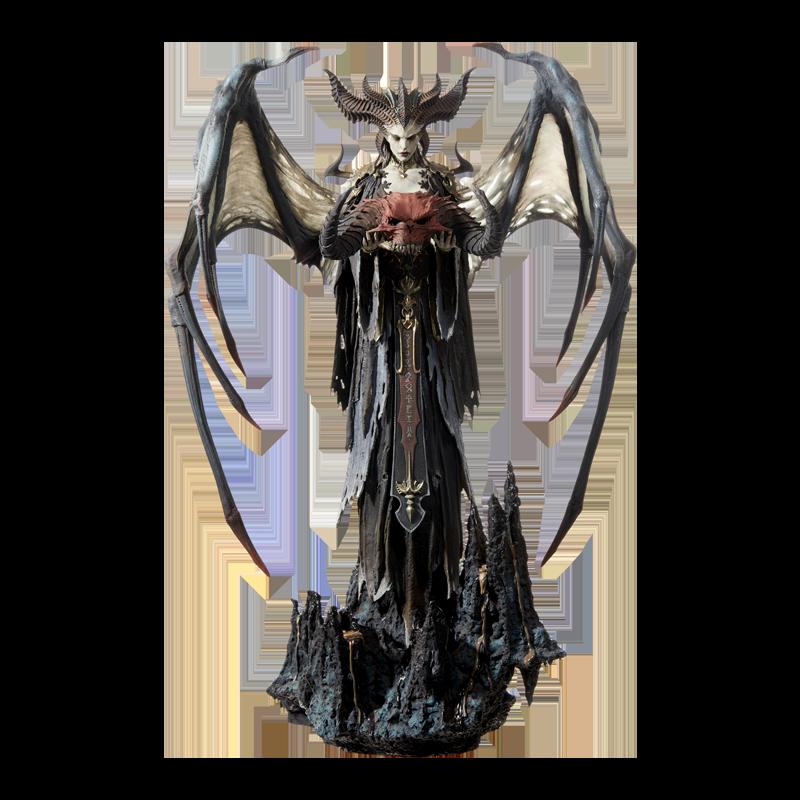 Merch Lilith Statue Diablo 4 Genuine Scale Figure 62.2Cm