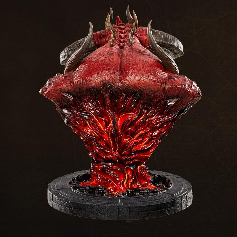 Merch Diablo Bust Statue 20Th Anniversary Collectible
