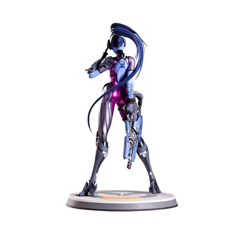 Merch Widowmaker Statue Overwatch Figure Genuine 34.5Cm