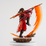 Merchandise Kilik Statue Soul Calibur Figure Genuine