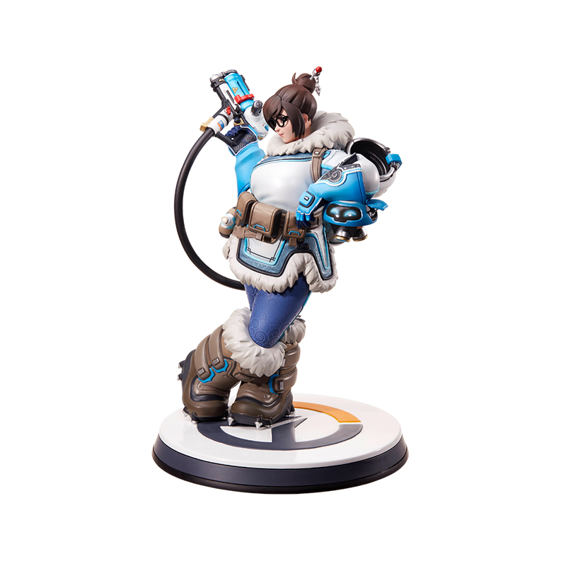 Merch Mei Statue Overwatch Scale Figure Genuine 28Cm