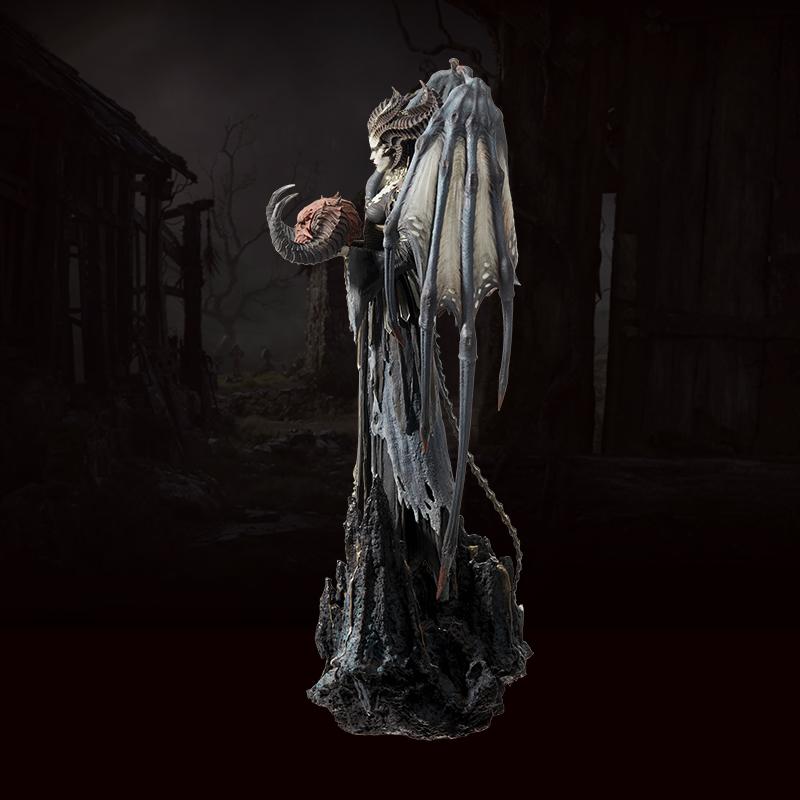 Collectibles Lilith Statue Diablo 4 Genuine Scale Figure 62.2Cm