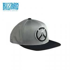 Merch - Overwatch Snapback Logo Grey Cap Licensed