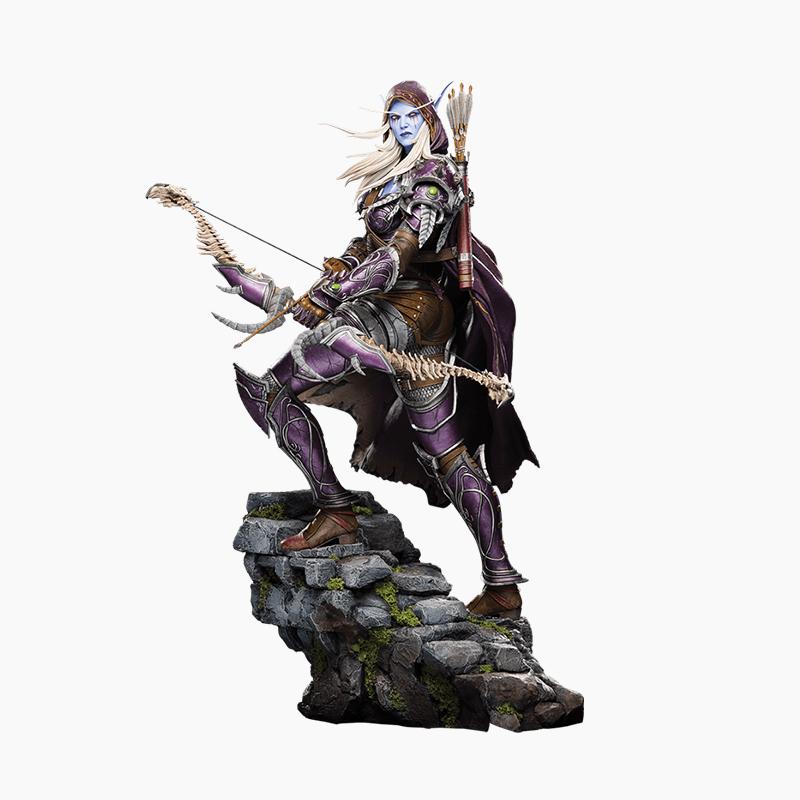Merch Sylvanas Statue Genuine Large Scale Figure Model 46Cm