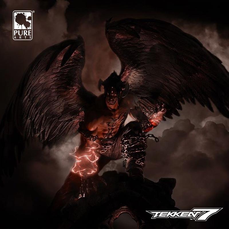 Merchandise Devil Jin Figure Tekken 7 Statue Kazama Genuine