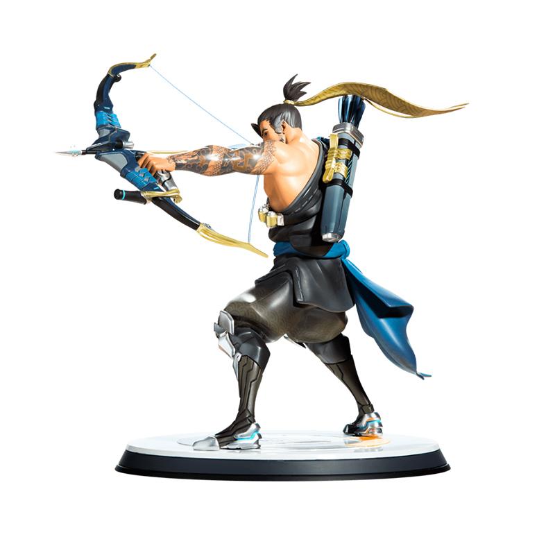 Merchandise Hanzo Statue Overwatch Scale Figure Genuine 33Cm