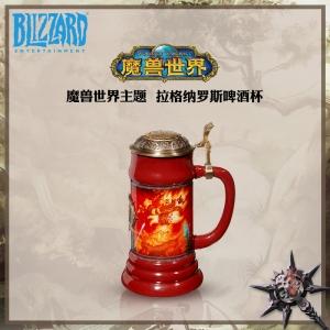 Merch Ragnaros Beer Mug Ceramic Cup World Of Warcraft
