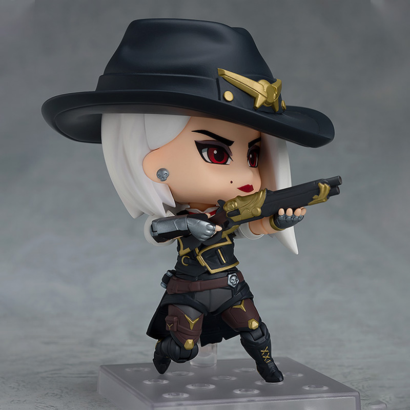Merch Ashe Mini Figure Overwatch Statue Genuine 10Cm