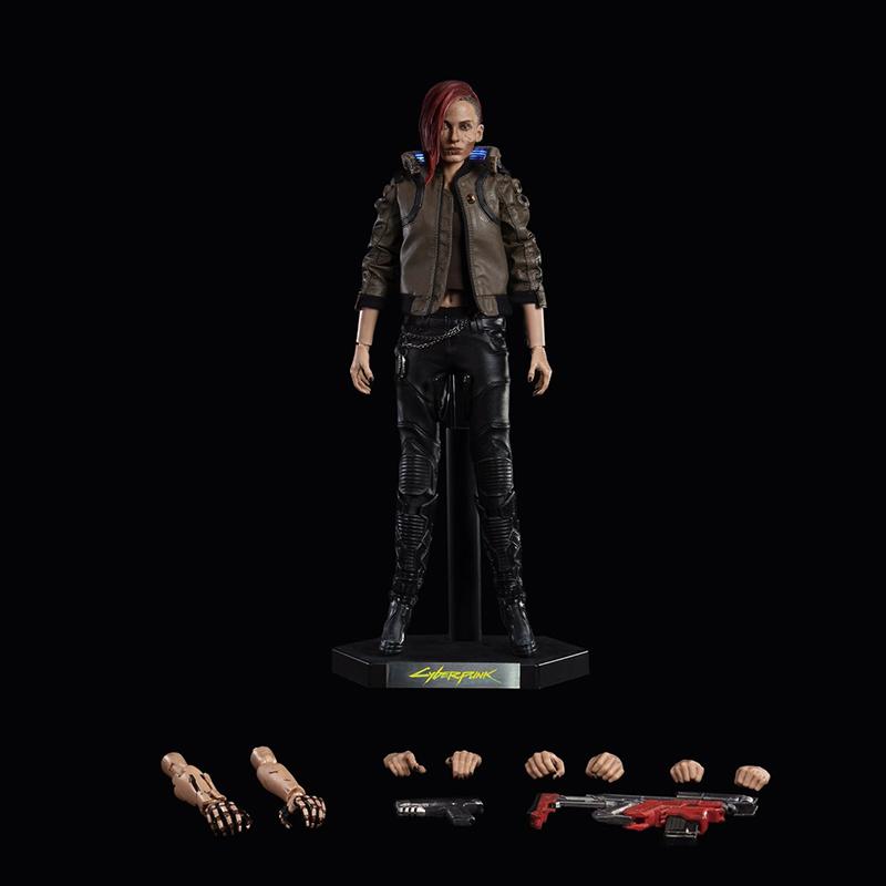 Merchandise Cyberpunk 2077 Figure Female Hero Statue Genuine