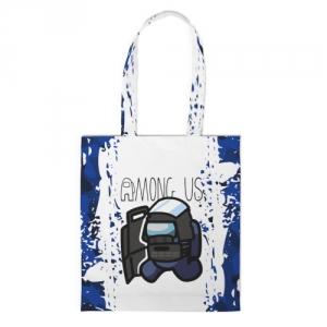 Merchandise Shopper Swat Among Us White Blue