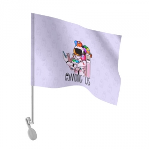 - People 101 Flag Auto Front White 500 149