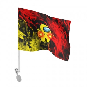 - People 101 Flag Auto Front White 500 158
