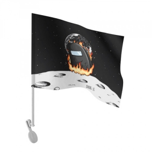 - People 101 Flag Auto Front White 500 159