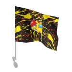 - People 101 Flag Auto Front White 500 163