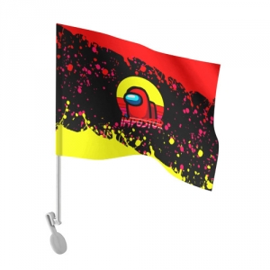- People 101 Flag Auto Front White 500 164