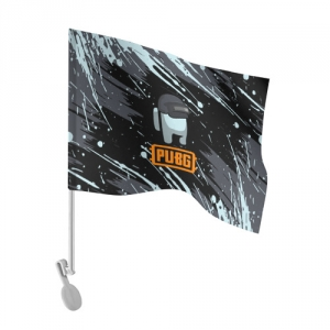 - People 101 Flag Auto Front White 500 165