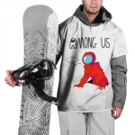 Collectibles - Red Crewmate Ski Cape Among Us