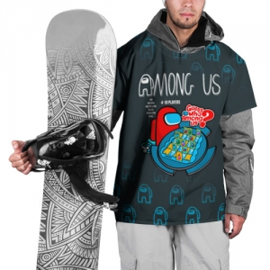Merch Among Us Ski Cape Guess Who Board Game