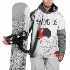 Merch Among Us Ski Cape Love Killed