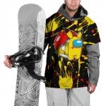 - People 101 Ski Cape Front White 500 187