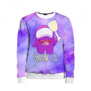 Merchandise - Kids Sweatshirt Among Us Imposter Purple