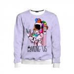 Merchandise - Spaceman Kids Sweatshirt Among Us Crewmates
