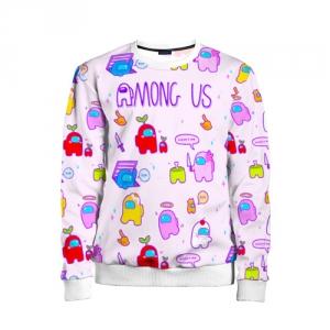 - People 11 Child Sweatshirt Front White 500 168
